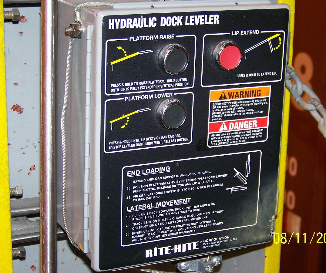 Rite-Hite Hydraulic Dock For Sale in Used, Surplus Other Materials